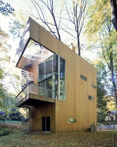 Sander Architects ] Tree house  #Treehouse Pinned by www.modlar.com