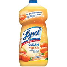 Lysol Clean & Fresh Tangerine & Mango Essence Scent Multi-Surface Cleaner, 48 fl oz