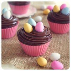 cupcake pascoa ickfd
