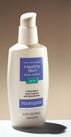 Neutrogena Mousturizer    Love this lotion!  I have been using it for over 10 years.  I do think it has helped my skin stay a little younger looking especially with the sun and the years of damage smoking has done.  I love the way it feels.  I apply every night before bed and every morning before makeup.