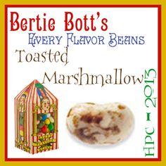 Bertie Bott's Every Flavor Beans Challenge: Toasted Marshmallow // Summer 2014 Term // Harry Potter Craftalong @ craftster.org