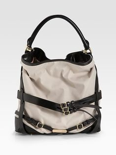 probably my favorite burberry bag.. If only I could pay for it.