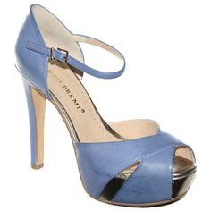 #Decollete in pelle color carta da zucchero di #BrunoPremi  http://www.tentazioneshop.it/scarpe-bruno-premi/sandalo-x2004x-jeans-bruno-premi.html