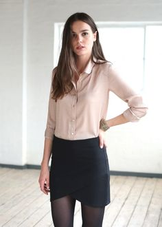 I like this outfit combo but I'd want to do it for a more conservative office setting