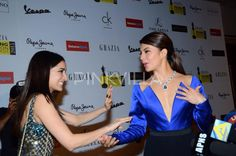 Jacqueline at Grazia Young Fashion Awards 2015.