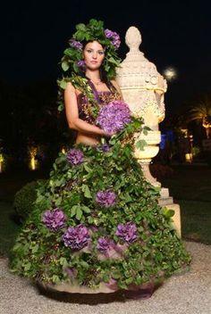 платья из цветов - Ярмарка Мастеров - ручная работа, handmade