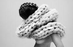 #wool #scarf #diy #merino #tejer #chunkywool #coolwool