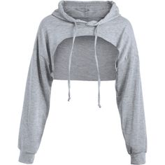 Zaful Cut Out Drawstring Crop Hoodie Found on my new favorite app Dote Shopping Kpop Fashion Outfits, Girls Fashion Clothes, Swag Outfits, Cute Casual Outfits, Stylish Outfits, Trendy Fashion, Spring Fashion, Jugend Mode Outfits, Crop Top Hoodie