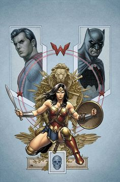 """""""BETTER TOGETHER"""" part two! Superman, Wonder Woman and Batman have uncovered a window into their very souls: and the power of temptation proves to be stronger than any villain they could battle! The b"""