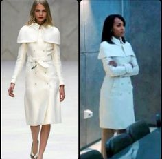 Burberry Prorsum + Olivia Pope BUT it's between $2,000 and $10,000!