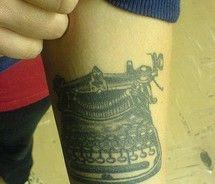 pfa Typewriter, Piercings, Tattoos, Peircings, Piercing, Tatuajes, Tattoo, Body Piercings, Tattos