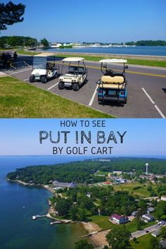 How to See Put in Bay by Golf Cart - Justin Plus Lauren