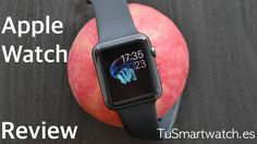 Apple Watch Video-Review #applewatch #pebbletime