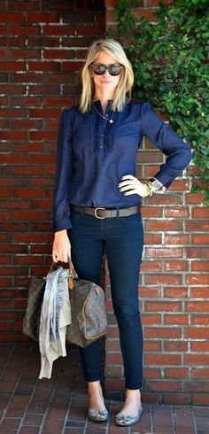 c43b77b6 45 Unboring Work Outfits for Women Over 40 -  #womensfallfashionforworkover40 Working Woman, Pinterest Fashion