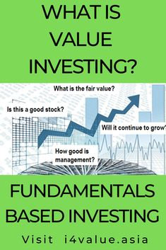 Value investing is about avoiding value traps. But you have to learn how to do this. This post provides a guide on how you can be a value investor by developing 2 basic skills - how to analyze companies and how to value them. It provides a list of URLs to free reading materials, podcasts, and videos so that you can learn at your own pace. You learn concepts as well are see how they are applied through case studies. #i4value #valuation #dividendinvesting #indexfund #investingmoney Value Investing, Investing In Stocks, Investing Money, What Are Values, Investment Books, Company Financials, Dividend Investing, Fundamental Analysis, Creating Wealth