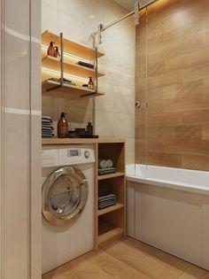 Фотография:  в стиле , Ванная, Советы, маленькая ванная – фото на InMyRoom.ru