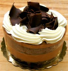 chocolatecakezone:  Living Healthy With Chocolate: Delectable...