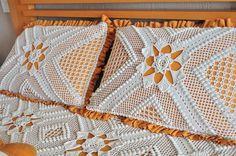 Belíssima colcha de crochê, Um Luxo em crochê Maravilhosa