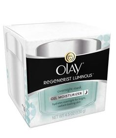 Olay Regenerist Luminous Overnight Mask | The best beauty products in the aisles, handpicked by Ellen Marmur, a dermatological surgeon in New York City and an associate clinical professor in both the department of dermatology and the department of genetics and genomic research at Mount Sinai Medical Center.