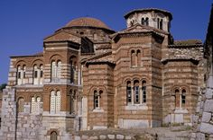 Monastery churches at Hosios Loukas, Greece
