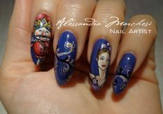 "I love this Nutcracker! It looks so nice, like a ""person"" you could go out for a friendly dinner... hihihi! Nail Art by Alessandra Marchesi Nail Designer: search me on facebook!"