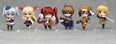 New to the Nendoroid Petite line of trading figures are characters from the hugely popular trading card game Rage of Bahamut! There are seven characters in total to collect: Fighter, Cerberus, Vania, Orchis, Feena, Teena, and one secret character. Each box comes with eight randomly packed figures. Also included with each Nendoroid Petite figure is a code that gives you a 1:8 chance of receiving a ...