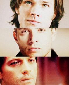 Supernatural. My current obsession; such a GREAT show! But I am way too old to be lusting after these men the way I do. Not that I'll be stopping any time soon.