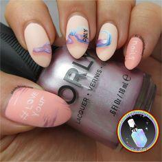 Love Your Nails - Orly Nail Polish Bottle Nail Art
