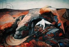 Resting Angel (date unknown) by Edward Burra