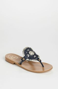 3d6818698703 Jack Rogers  Georgica  Sandals - navy goes with everything
