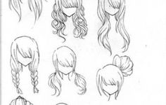 How To Draw A Girl With Curly Hair