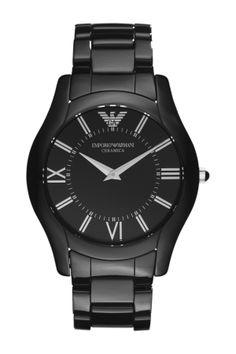 5ead9349f224 Black on Black    Armani Watches