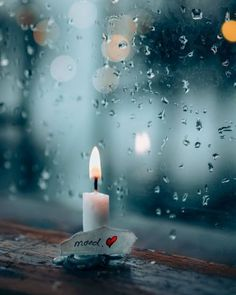 Explore amazing art and photography and share your own visual inspiration! Rain Photography, Creative Photography, Amazing Photography, Rainy Wallpaper, Wallpaper Backgrounds, Candle Lanterns, Candles, Miniature Photography, Love Rain