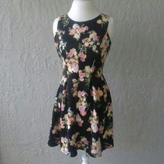 [[[[[SALE]]]]] Spring time fun skater dress. Like new condition.    PRICE IS FIRM IN SALE ITEMS. Candie's Dresses