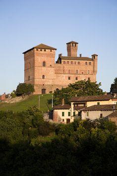 The Castle of Grinzane Cavour, Grinzane Cavour, Cuneo, Piemonte, Italy