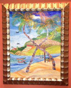 "Estelle Tambak ""Palm Trees"" www.galeriebonheur.com"