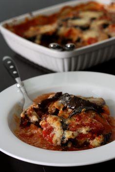 Gratin d'aubergines au chorizo