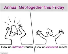 Introvert Vs Extrovert, Introvert Personality, Personality Types, Alone In A Crowd, The Power Of Introverts, Social Anxiety Disorder, Entp, Describe Me, Psychology Facts