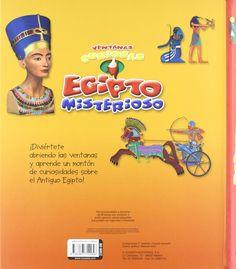 Egipto misterioso (Ventanas curiosas): Amazon.es: Equipo Susaeta, Francisca Valiente: Libros