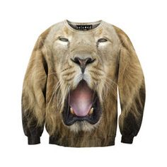 Lazy Lion Sweatshirt