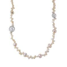 Tanya Moss | Joyería de oro | Joyería de plata | Diseño mexicano de accesorios y joyería Collar Piara Largo de Perlas con Plata 925 #TanyaMoss #Jewelry #Joyeria #Pearls #Perlas #SterlingSilver #Plata #MexicanDesigner #Necklace #Collar