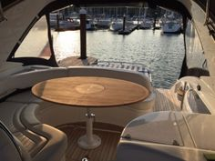 The Nautic Star Fairline Targa 43 teak table is a large elegant folding table with a very unique design. This table is certain to add style, class and elegance. Adjustable Height Table, Scottish Islands, Teak Table, Marine Boat, Star, All Star, Stars