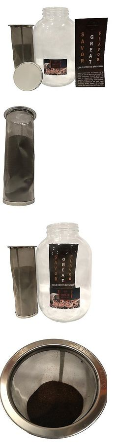 Colanders Strainers and Sifters 20636: 1Gallon| 128Oz| Large Batch Cold Brew Coffee Filter Kit| Super Fine Mesh Filter -> BUY IT NOW ONLY: $36.62 on eBay!