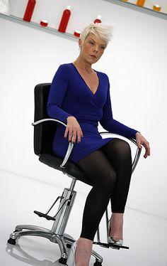Tabitha Coffey - i love her, her haircutting, her teachings. Shes a fabulous woman.