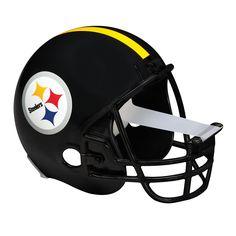 Scotch� Magic� Football Helmet Tape Dispenser, Pittsburgh Steelers-Office Depot