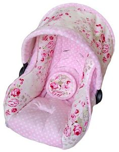 car seat cover pattern... I wonder who I can hit up to make me one ...