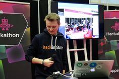 hack.institute hackathon at AppsWorld in Berlin hack.institute/events/apps-world-germany-hackathon/