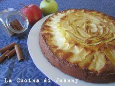 Torta di mele con yogurt - Ricetta senza burro