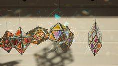 Made from dichroic glass A sole figure sleeping its mind between properly injure hands, gripping Dichroic Glass, Fused Glass, Sculpture Art, Sculptures, Lampe 3d, L'art Du Vitrail, Light Art Installation, Art Installations, Instalation Art