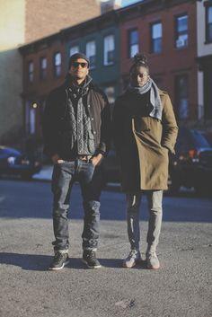 Phil & Josh on set of the Nike Black History Month Shoot